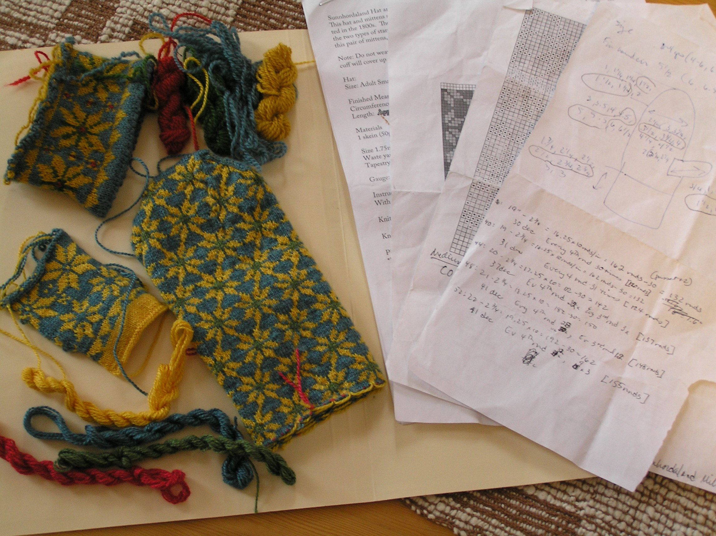 Knitting Project Journal : Happy new year and knitting journals traditions
