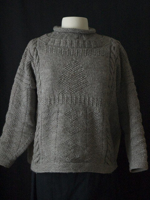 Knitting Pattern Guernsey Sweater : At Sea: Guernsey, Gansey & Arans - Cornwall Yarn Shop, Ltd.