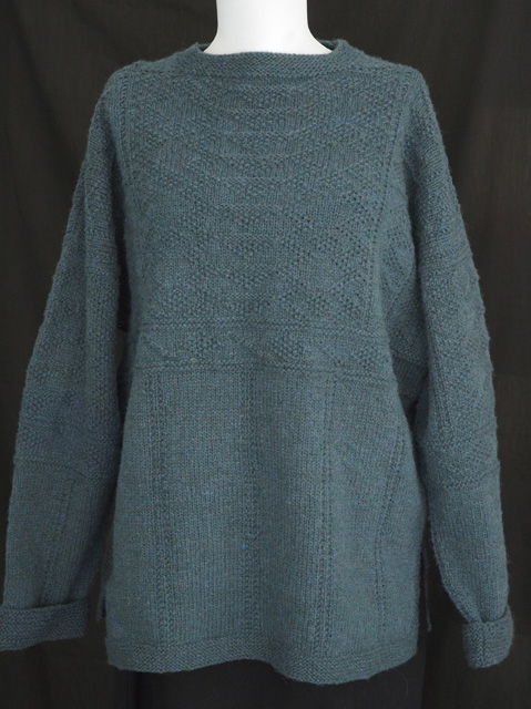 Knitting Patterns For Guernsey Sweaters : gansey Archives - Knitting Traditions