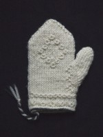 Twined Mitten