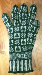 Winter Sanquhar Gloves