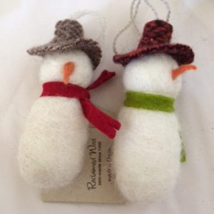 Snowfolk ornaments